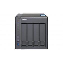 TS-431X-2G NAS QNAP 4BAY 2,5-3,5SATA AL-212 2 GB DDR3 1*10GBE 4713213511084 QNAP