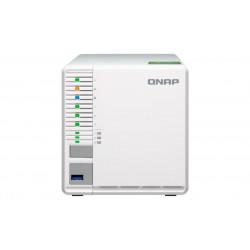 TS-332X-2G NAS QNAP 3BAY SSD/HDD SATA 6GB/S 2P LAN ETHERNET 10GIGABIT TOWER 4713213513729 QNAP
