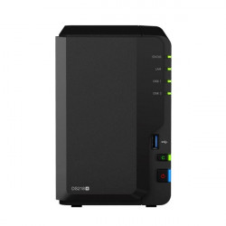"DS218+ NAS SYNOLOGY DS218+ 2HD 3.5""/2.5"" RAM 2GB 1P LAN RJ45 846504002580 SYNOLOGY"