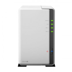 "DS218J NAS SYNOLOGY DS218J 2HD 3.5""/2.5"" RAM 512MB 1P LAN RJ45 2P USB 4711174722815 SYNOLOGY"