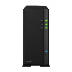 "DS118 NAS SYNOLOGY DS118 1HD 3.5""/2.5"" RAM 1GB 1P LAN RJ45 2P USB 4711174722952 SYNOLOGY"
