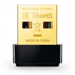 ARCHER T2U NANO SCHEDA AC600 WIFI USB MINI SIZE USB 2.0 1 ANTENNA INTERNA 6935364099978 TP-LINK