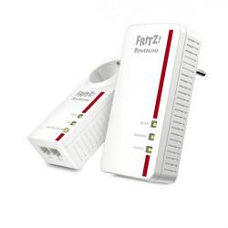 20002819 POWERLINE FRITZ! 1260E WLAN KIT 2PZ PRESA PASSANTE 4023125028199 AVM