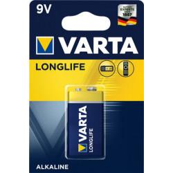 04122101411 BATTERIA 6LF22 9V ALCALINA CONF.BLISTER 1PZ VARTA 4008496525423 VARTA