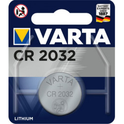06032101401 BATTERIA CR2032 LITIO 3V BOTTONE CONF.BLISTER 1PZ VARTA 4008496276882 VARTA