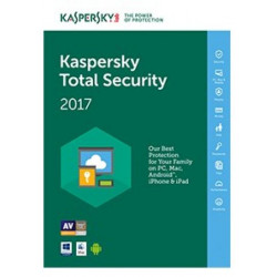 KL1919TBCFS SW KAS TOTAL SECURITY 1Y 3 USER ITALIANO 5060437606799 KASPERSKY