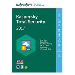 KL1919TBAFS-7 TOTAL SECURITY 1Y 1U 2017 KASPERSKY ITALIANO MULTIDEVICE SLIM BOX 5060437606782