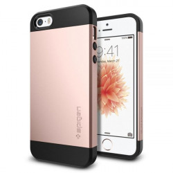 CUSTODIA IPHONE 5/5S/SE SLIM ARMOR ROSE GOLD
