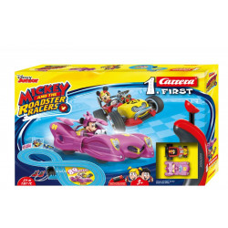 4007486630192 PISTA FIRST MICKEY AND MINNIE 2,4M CARRERA AND THE ROADSTER 4007486630192 CARRERA