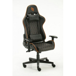 GC0619RB-K7K1 POLTRONA GAMING NOUA ENTRY POGGIA TESTA E CUSCINO BLACK/ORANGE 8053323502210 NOUA
