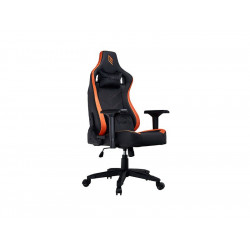 GC0619RB-L7K1 POLTRONA GAMING NOUA MEDIUM POGGIA TESTA E CUSCINO BLACK/ORANGE 8053323502227 NOUA