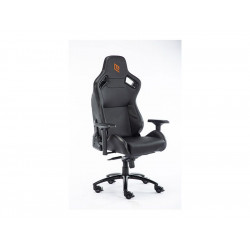 GC0619RB-W7K0 POLTRONA GAMING NOUA TOP POGGIA TESTA E CUSCINO BLACK 8053323502234 NOUA