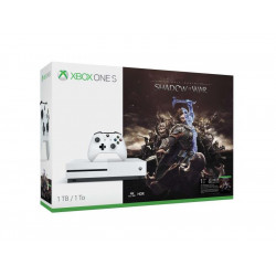 234-00188 MICROSOFT XBOX ONE S 1TB INCLU. SHADOW OF WAR USK 16 889842213508 MICROSOFT