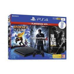 9719915 SONY PLAYSTATION 4 1TB THE LAST + UNCHARTED 4 + RATCHET & CLANK PS4 711719719915 SONY