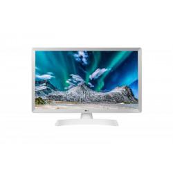 """TV MONITOR 24"""" LG HD WHITE HDMI/USB/VESA"""