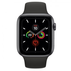 MWWE2TY/A WATCH 5 44MM GPS+CELL SPACEGREY ALM BLACK SPORT BAND 0190199279179 APPLE