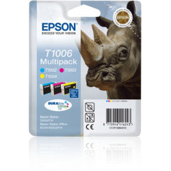 C13T10064010 INK EPSON PER STYLUS OFFICE BX600FW MULTIPACK 3 CARTUCCE C/M/G 8715946416243 EPSON