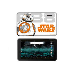 "MID7388W-BB TABLET ESTAR 7"" HD HERO STARWAR BB8 QC/AND7.1/1GB/8GB/WIFI SILICON 5297388111144 ESTAR"