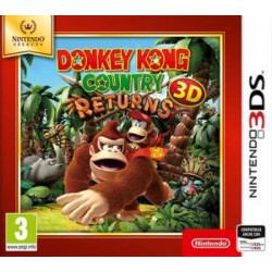 2240049 3DS DONKEY KONG COUNTRY RETURNS 3D SELECTE 0045496477431 NINTENDO