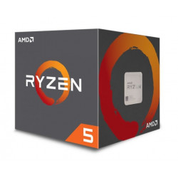 CPU AMD RYZEN5 1600 AM4 3,6GHX 65W 6CORE BOX 16MB 64BIT WRAIGHTSPIR