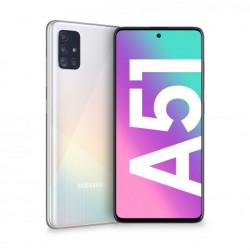"SMARTPHONE SAMSUNG GALAXY A51 6,5"" WHITE 128GB+4GB DUAL SIM ITALIA"