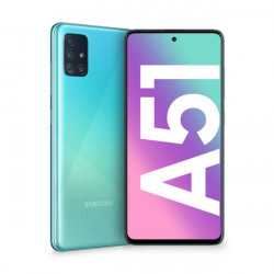 """SMARTPHONE SAMSUNG GALAXY A51 6,5"""" BLUE 128GB+4GB DUAL SIM ITALIA"""