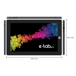 """TABLET E-TAB PRO 10,1"""" WIFI AND8 DC2.6/4GB/64GB/5MP/FHDIPS/HD600"""