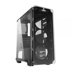 CASE MID-TOWER NO PSU COOL G8 GREY 1USB3 2USB2 VETRO TEMPERATO