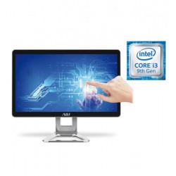 "AIO 24"" I3 8G 240G FD TOUCH NO ODD I3-9100 WIFI 4U3 VGA/HDMI/SPEAKER"