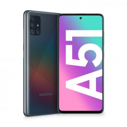 """SMARTPHONE SAMSUNG GALAXY A51 6,5"""" BLACK 128GB+4GB DUAL SIM ITALIA"""