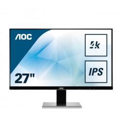 """MON 27""""IPS AOC 4K HDMI DP DVI PIVOT AOC"""