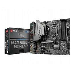 MB MSI B365M MORTAR 1151 COFFEELAKE 4D4 1M.2 6U3.1 6U2 6S3 HDMI