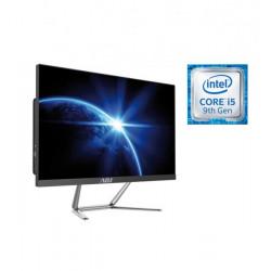 "AIO 24"" I5 8G 480G FD N/T NO ODD BK I5-9100 WIFI 4U3 VGA/HDMI/SPEAKER"