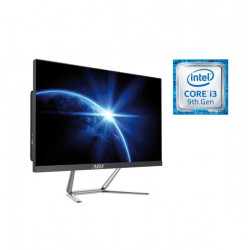 "AIO 24"" I3 8G 480G FD N/T NO ODD BK I3-9100 WIFI 4U3 VGA/HDMI/SPEAKER"