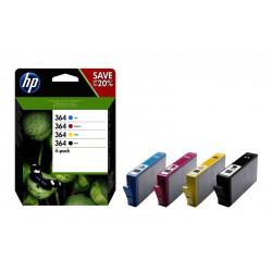 INK HP N9J73AE N.364 C/M/Y/NERO