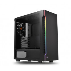 CASE MID-TOWER NO PSU H200 TG RGB BLK USB 3.0*2 VETRO TEMPERATO