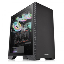 CASE MID-TOWER NO PSU S300 TG BLK USB 3.0*1 2.0*2 VETRO TEMPERATO