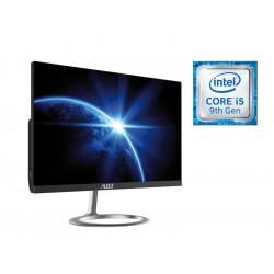 """AIO 24"""" I5 8G 480G FD N/T NO ODD BK I5-9400 WIFI 1XTYPE-C,1XU3 VGA/HDMI"""
