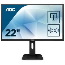 """MON 21,5""""TN  VGA HDMI DVI 2MS AOC 22E1D  16:9"""