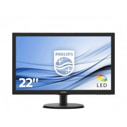 """MON 21,5""""W-LED VGA VESA PHILIPS 223V5LSB2 16:9 600:1 5MS"""