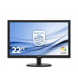 """MON 21,5""""W-LED VGA HDMI VESA PHILIPS 223V5LHSB2 16:9 600:1 5MS"""