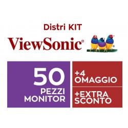 MON VIEWSONIC KIT DISTRIBUTORE 50 + 4