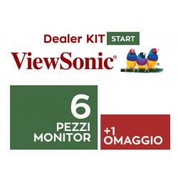 MON VIEWSONIC KIT DEALER ENTRY 6+1