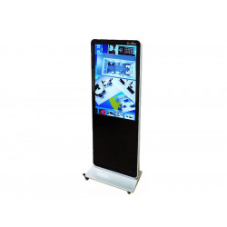 """TOTEM 55"""" FULLHD MTOUCH INFRARED PLAYER ANDROID INTEGRATO BIFACCIALE"""
