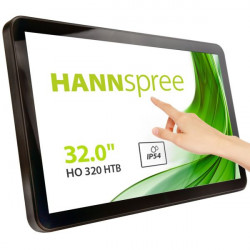 "MON TOUCH OF 32""LED VGA HDMI DVI-D HANNSPREE HO320HTB 16:9 1400:1 8MS"