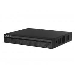 NVR 16CH 8MP 4K 1HDMI 1VGA 2SATA BK 2USB AUDIO/ALARM I/O H265/H264 ADJ