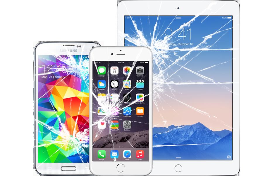 Pineapple Riparazioni schermo rotto iPhone smartphone iPad e tablet